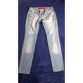 Calça Jeans Claro Iódice Denim Feminina Tamanho 42