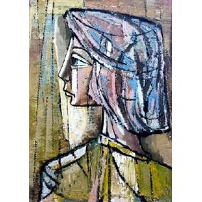 Oleo Original : Anónimo - Pintura Abstracta Sobre Tela