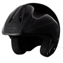 Casco Abierto Moto Cid Aero 1 Con Visera Negro