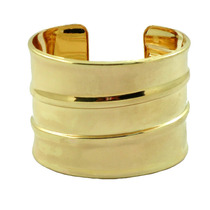 Bracelete De Metal Dourado