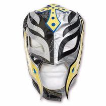 Máscara Wwe Rey Mysterio Original Com Brinde Pronta Entrega