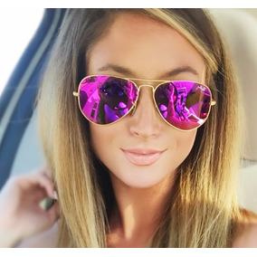 Gafas Ray Ban Aviador Colores Espejo Grande 3026 3025