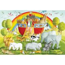 Rompecabezas Gigante Arca De Noe Ravensburger 24 Pzs. 05342