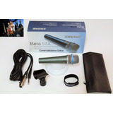 Microfono Shure Alambrico Beta 57a