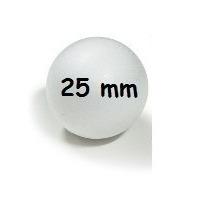 Bola De Isopor 25mm Com 100 Unidades