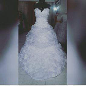 Vestido De Noiva Duas Saias. (fica Curto) Alugo Somente.