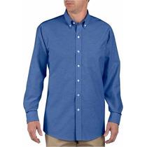 Dickies Ss36 Camisa Manga Larga Azul Francia Extras Xxl Xxxl