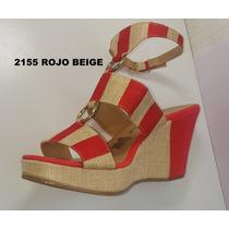 Sandalia Lucrecia Cordero 2155 Rojo Zara Lob Berska Minelli
