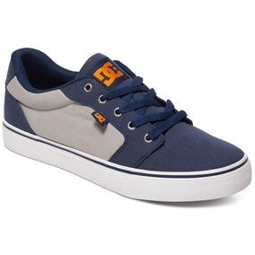 Tenis Hombre Anvil Tx M Shoe No3 Spring 2016 Azul Dc Shoes