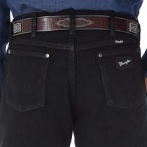 Pantalón Jean Caballero Wrangler Clásico 13cowboy Cut, Negro