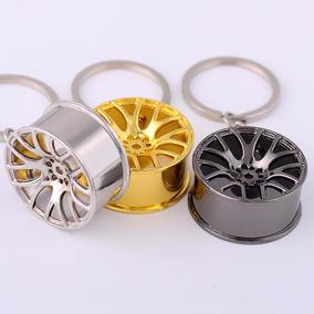 Chaveiro Roda Tsw Carros Tuning Cromada Dourada E Grafite