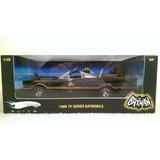 Batimovil Tv Serie1966 Hot Wheels Elite Ed. Limitada 1/18