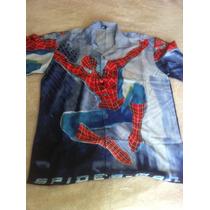 Camisas Estampado Spider Man Talla Xl Envio Gratis