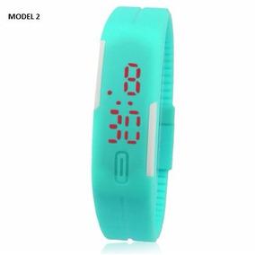 Relógio Bracelete De Silicone Unissex Coloridos Frete Grátis