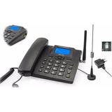 Aparelho De Telefone Rural Powerpack Tgsm-6068 Com Bina