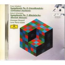 Schubert - Giuseppe Sinopoli & Carlo Maria Giulini - 1 Cd