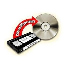 Passe Vídeo Vhs Para Cd Ou Dvd