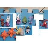 Coleção Mcdonalds Lote C 22 Brinquedos Dragoes, Minions Etc