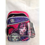 Mochila Costas G Monster High Sestini 40x30x13