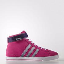 Zapatillas Adidas Daily Twist Mid W Mujer Fucsia Y Plata
