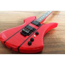 Miniatura De Guitarra Red Stained Mockingbird Do Slash