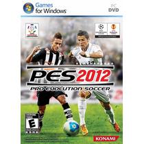 Pc - Pro Evolution Soccer 2012 (acepto Mercado Pago Y Oxxo)
