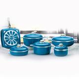 Dia De La Madre Set Ollas Aluminio Alma Gourmet 11 Piezas