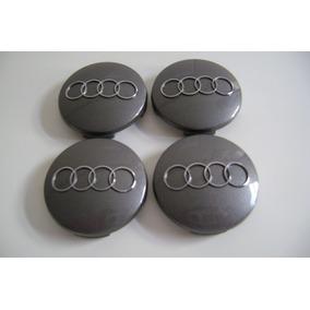 Jogo Calotas Centro Rodas Aluminio Audi A3, A4, A6.