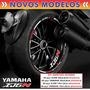 Kit Friso Refletivo Yamaha Xj6 N Xj6n Xj6 F + Adesivo Inter.