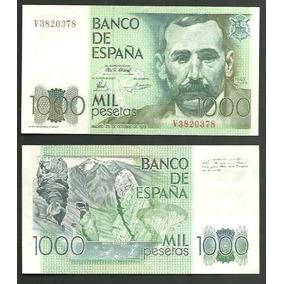 Billete Banco Del Reino De España De 1000 Pesetas Pic#158