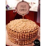 Torta Decorada Con Golosinas Para Fiestas, Cumpleaños Y Más