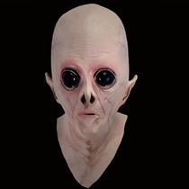 Mascara Borracha Latex Alienigena Alien Ufo Terror Monstro
