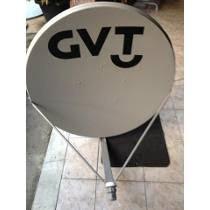 Antena Ku 90 Cm Com Kit Fixação