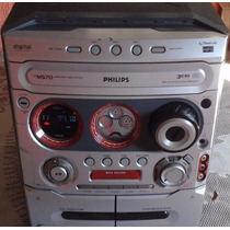 Aparelho De Som Philips Fw M570 Gameport Mini System 3 Cd