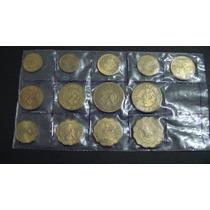 Numismática - Rara Coleção Moedas Paraguai 13 Peças