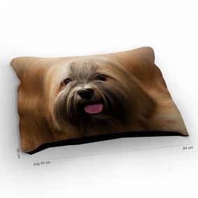 Colchão Para Pet Cachorro Lhasa Apso 85x60cm