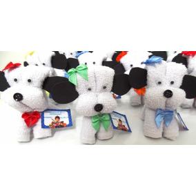 Kit 10 Cachorrinhos Feitos Em Toalha De Mão ( Lembrancinhas)