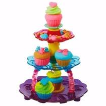 Play Doh Torre De Cupcake Conjunto Massinha De Modelar
