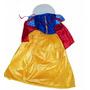 Disfraz Vestido Princesa Blancanieves Nena