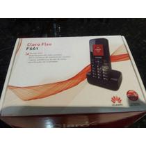 Telefone Fixo Gsm Chip 3g Huawei F661 Novo Claro Tim Oi Vivo