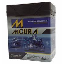 Bateria Moura 12v 6ah Cg150es/twister/cb300/lander/fazer