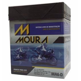 Bateria Moura Moto 12v 6h Tornado Twister 250 Falcon Cb300