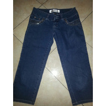 Pantalon Jeans Dama 7/8 Ropa