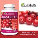 Cranberry 300 Mg Salud Del Sitema Urinario 250 Tabletas