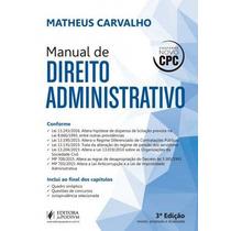 Manual De Direito Administrativo - Matheus Carvalho 2016 Pdf