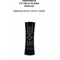 Controle Remoto Tv Tela Plana Philco Ph14d Ph21c Ph29b