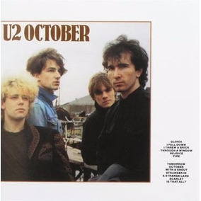 Cd U2 October Importado Usa First Press 1981