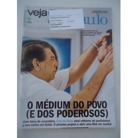 Veja São Paulo #03-set-2014 João De Deus Médium Do Povo E Po