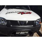 Defensa Negra Nissan Frontier / D21 / Np300 Hasta 2015