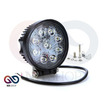 Faro Auxiliar Reflector 4x4 9 Led Off Road 27w 12a24v Camion